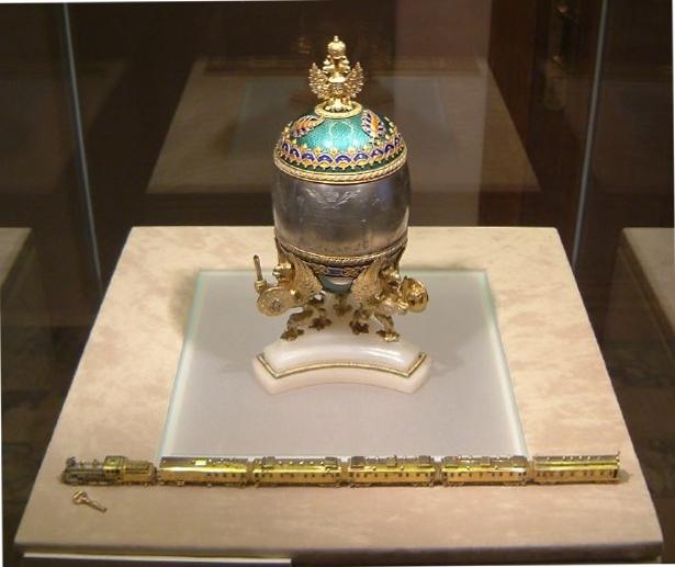 Uovo Fabergé Transiberiana