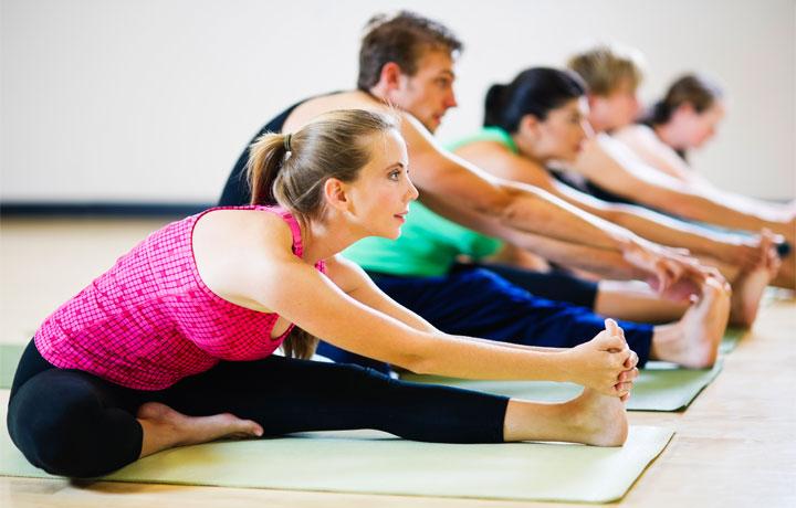 Yoga in palestra