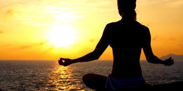 Meditazione all'alba