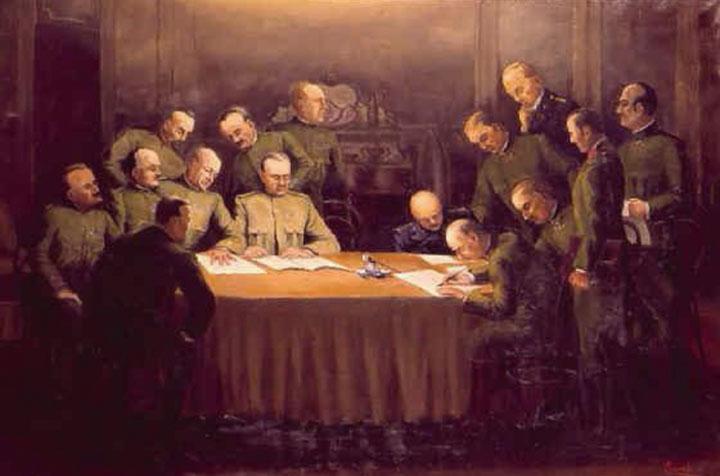 Armistizio di Villa Giusti - 3 novembre 1918