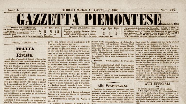 La Gazzetta Piemontese