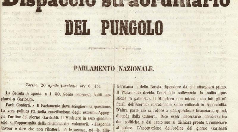 Giornalismo e stampa durante la unita di Italia