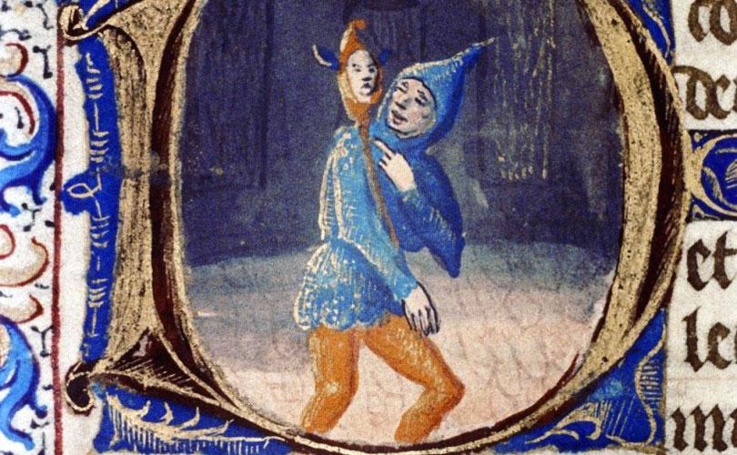 Il teatro nel Medioevo: un Giullare