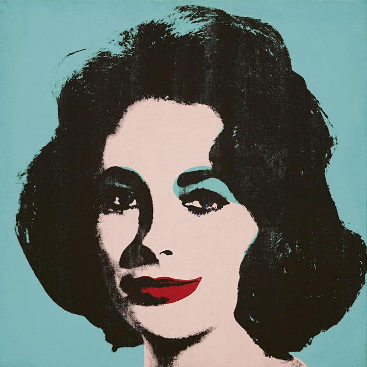 Liz N.5 - Andy Warhol
