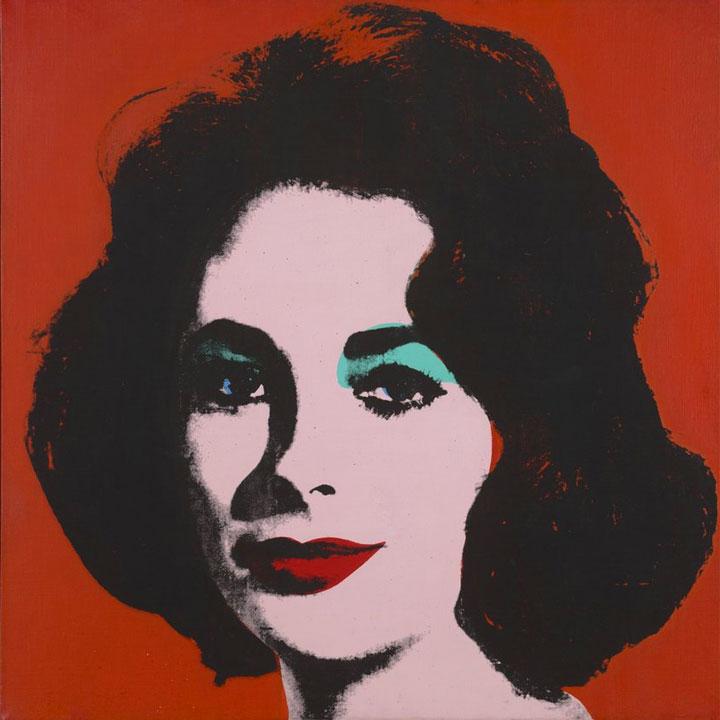 Liz N.6 - Andy Warhol