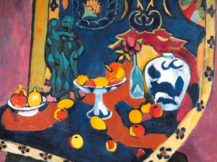 Matisse - Natura morta con frutta - 1910 (Still life with fruit)