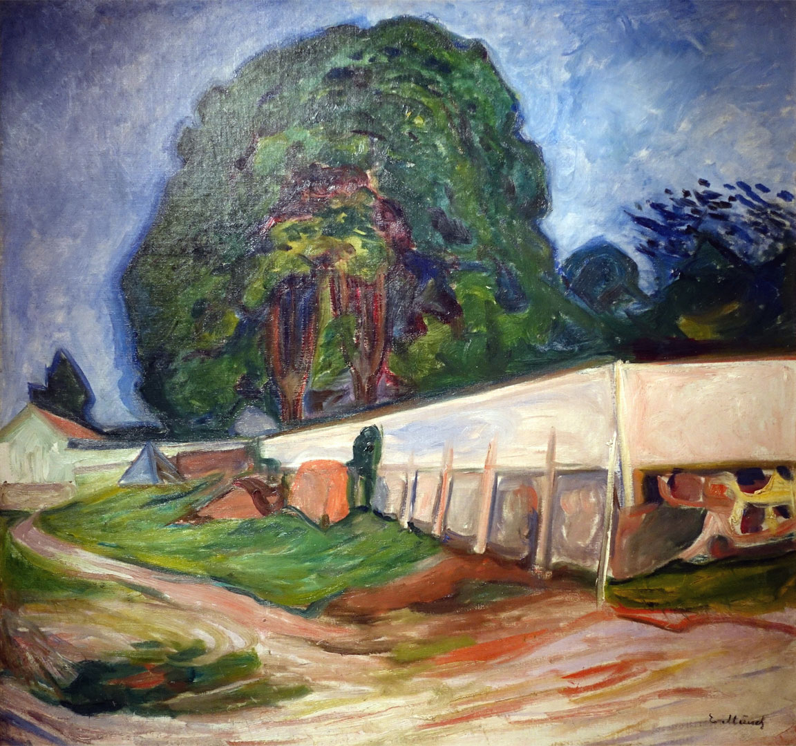 Munch - Notte d estate ad Asgaardstrand - Nuit d ete a Asgaardstrand - Summer Night at Asgaardstrand - 1904