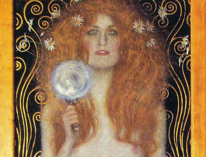 Nuda Veritas - Klimt - dettaglio