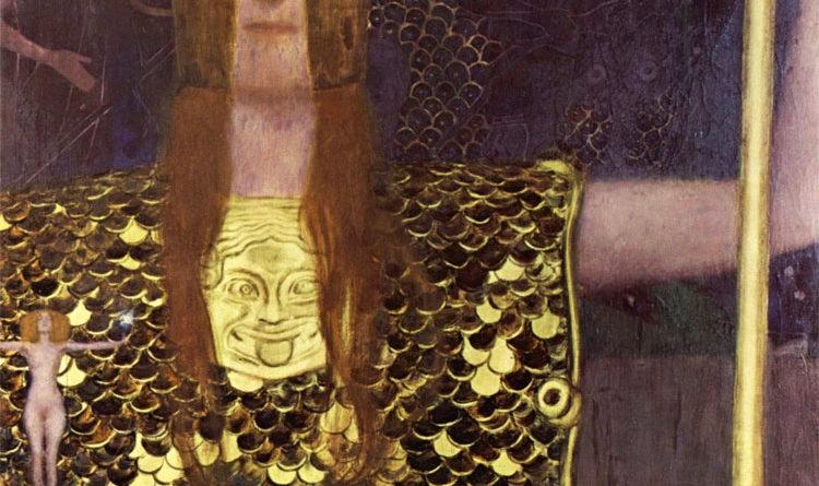 Pallade Atena - Klimt - Pallas Athene - 1898