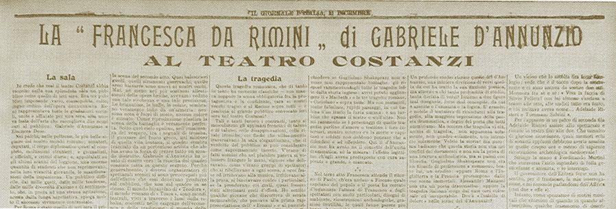 Storia del giornalismo - La prima Terza pagina - 10 dicembre 1901