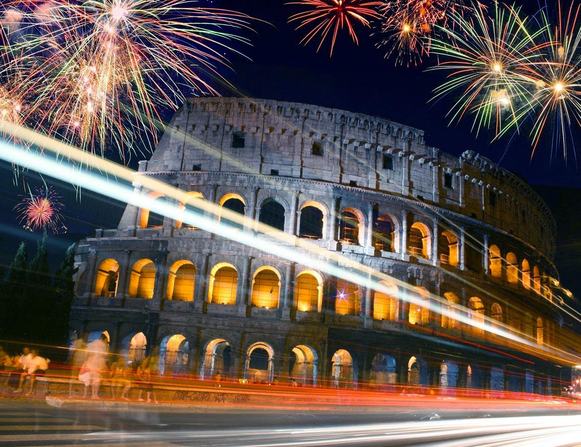 Capodanno a Roma - il Colosseo