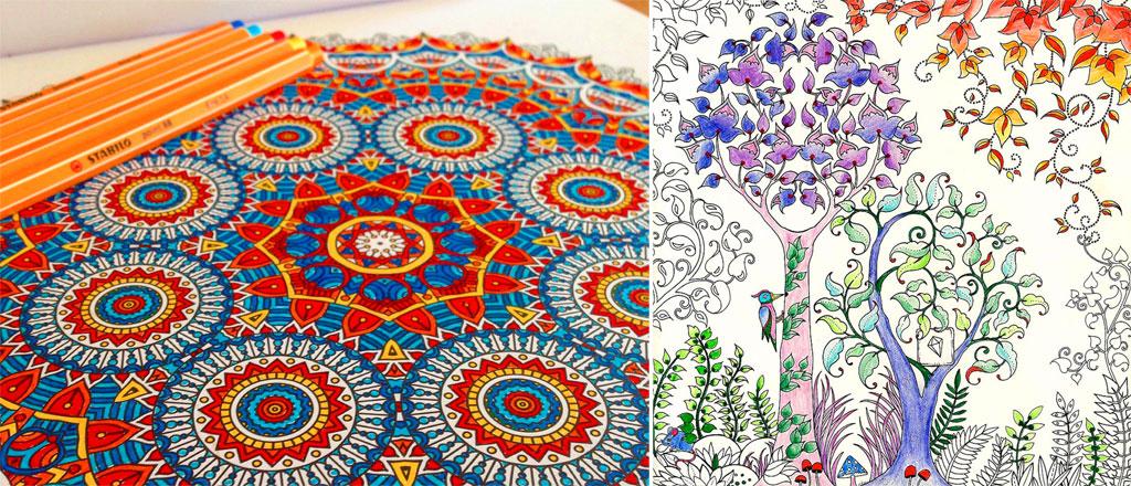 Disegni e album da colorare