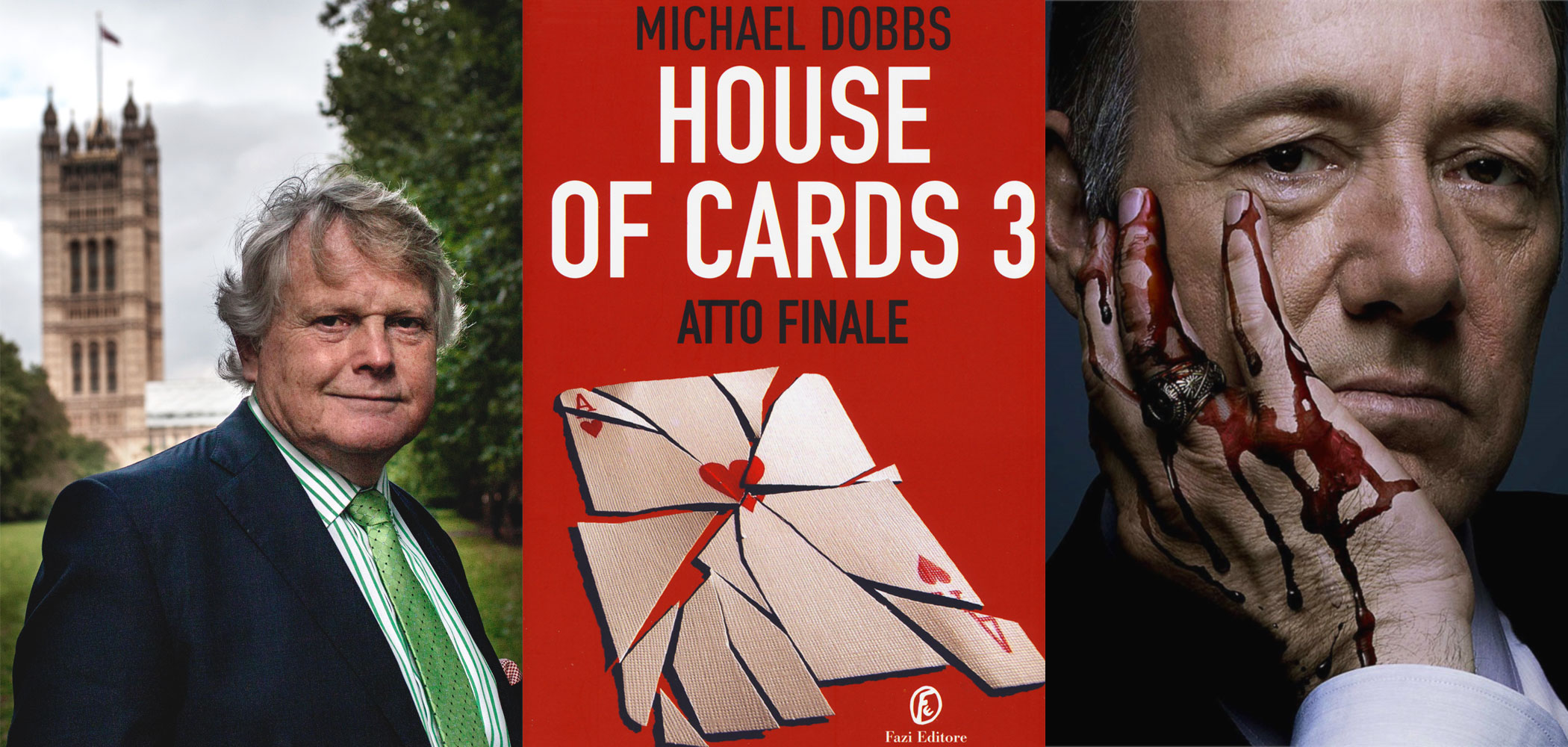 House of cards 3 - libro - Michael Dobbs - Kevin Spacey