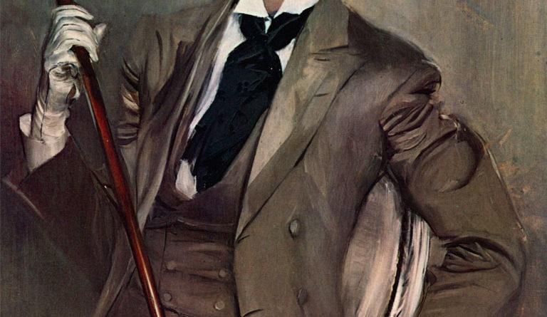 Il conte Robert de Montesquiou - ritratto da Giovanni Boldini - 1897