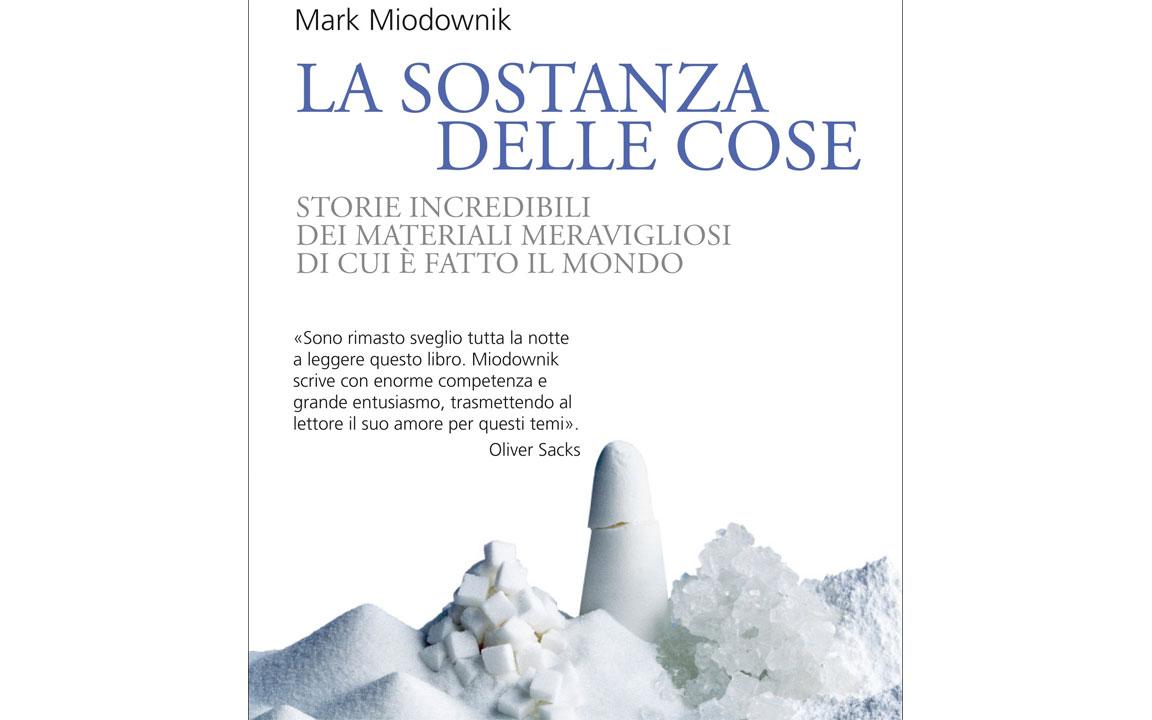 La sostanza delle cose (copertina del libro)