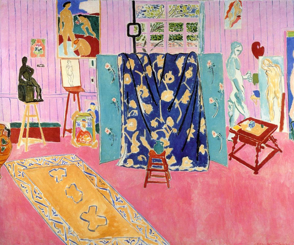 Lo studio rosa - Henri Matisse - The Pink Studio - 1911