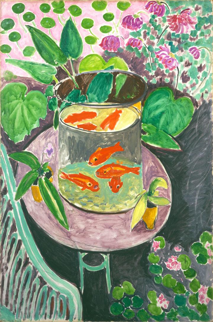 Pesci rossi - Goldfish - 1912 - Henri Matisse