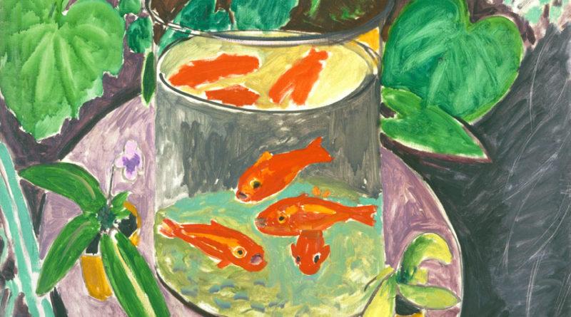 Pesci rossi - Goldfish - Matisse - detail - dettaglio