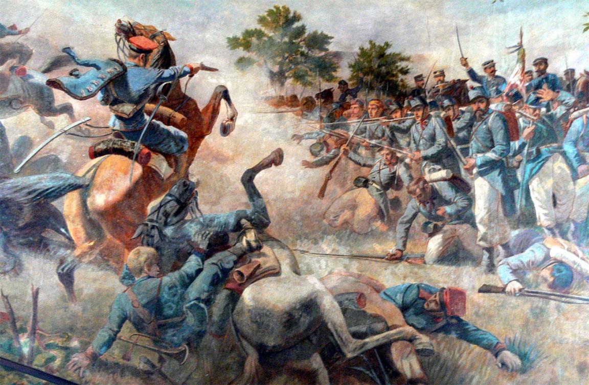 Terza guerra di indipendenza italiana - Battaglia di Custoza - 1866