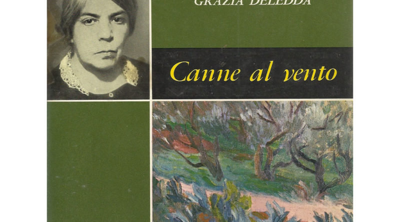 Canne al vento - libro - Grazia Deledda