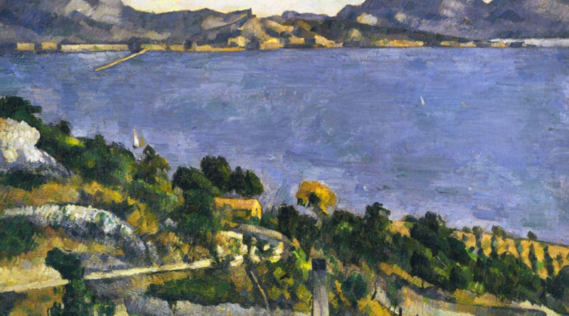Il golfo di Marsiglia dalla veduta dell Estaque - 1878 - Cezanne - The Gulf of Marseilles from L Estaque - also called - L Estaque