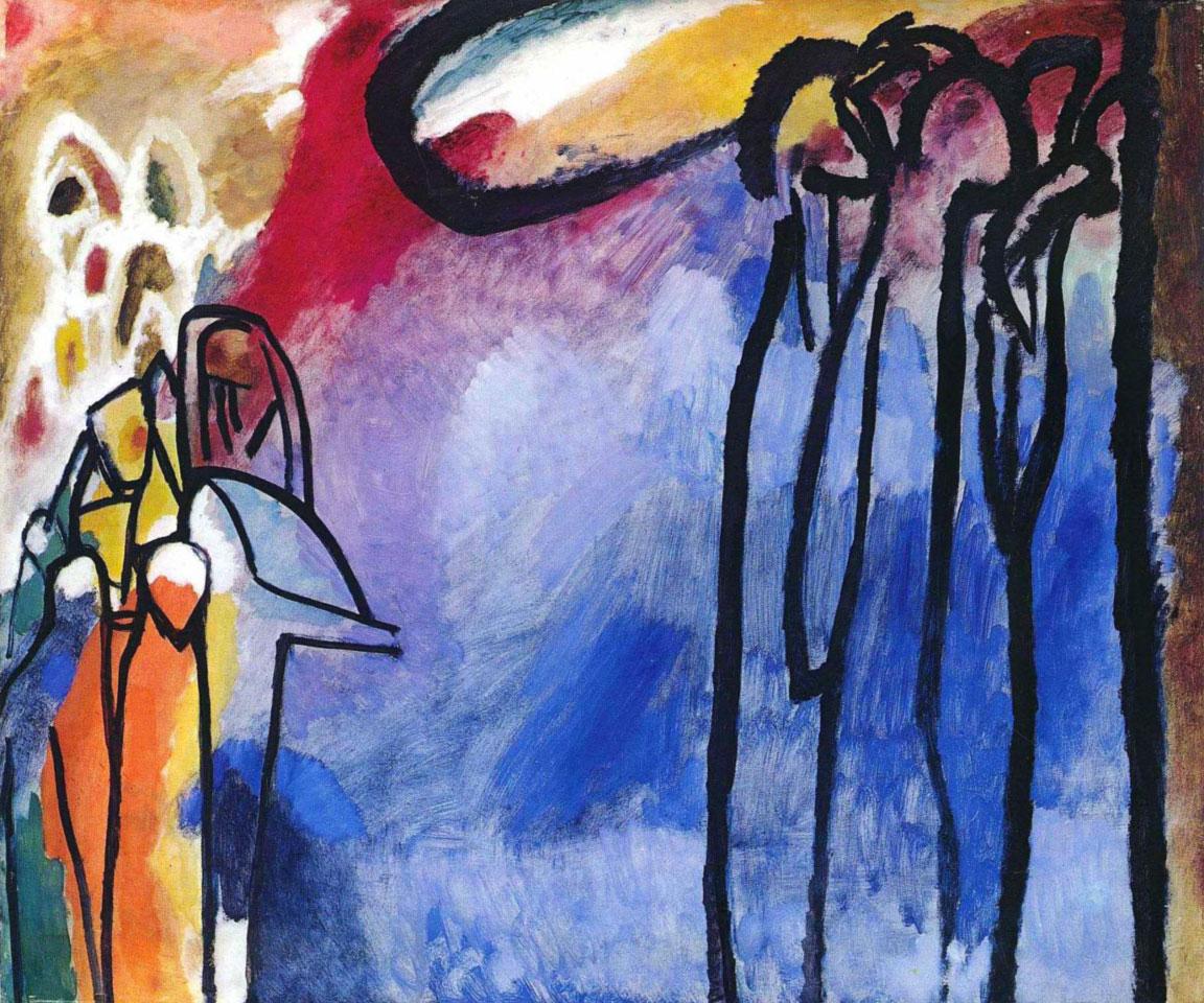 Improvisation 19 - Improvvisazione 19 - Kandinsky