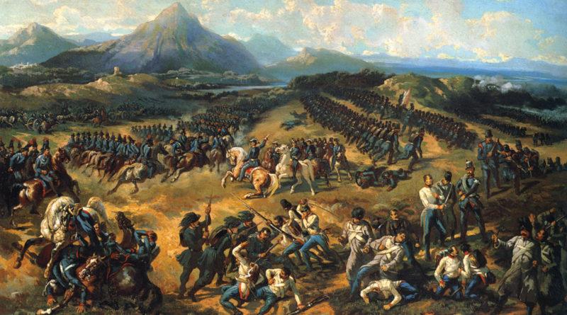 La battaglia di Pastrengo - Vincenzo Giacomelli