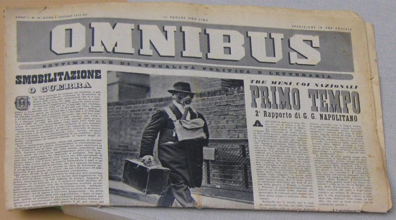 Omnibus - Storia del giornalismo italiano