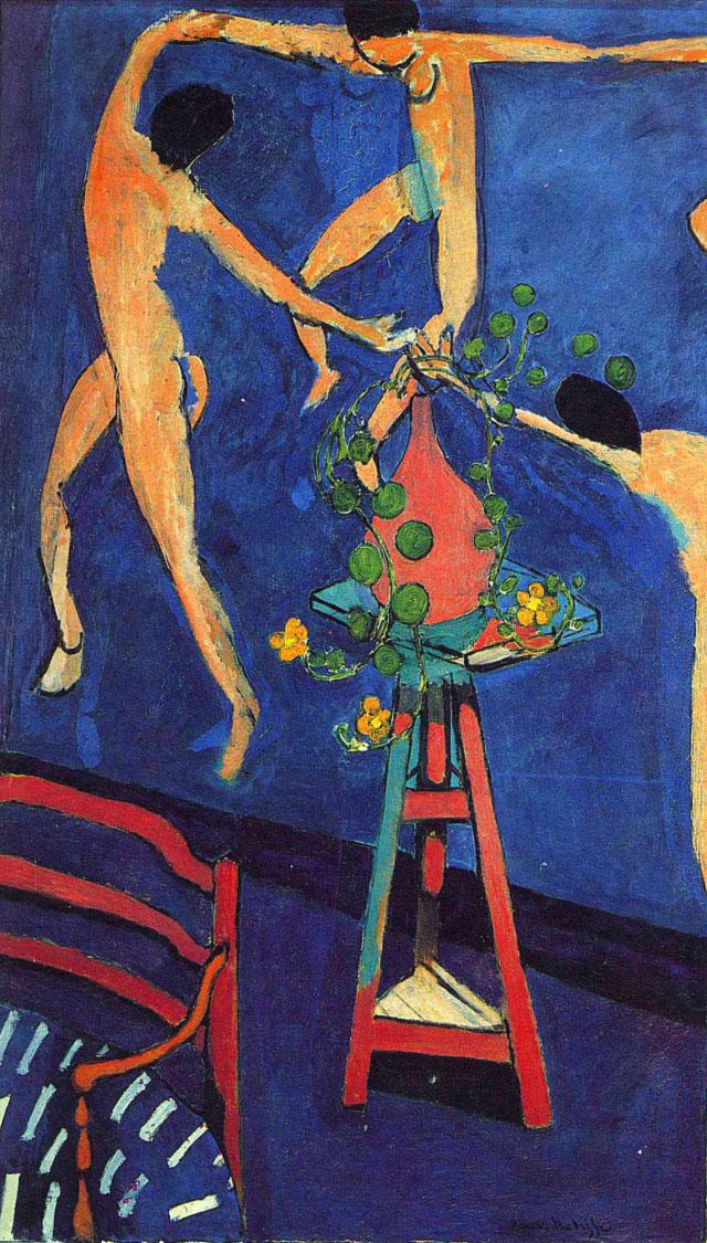 Vaso di nasturzi e La Danza - Matisse