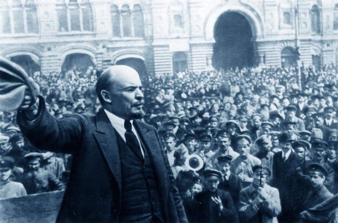 Famosa foto di Lenin - Rivoluzione russa