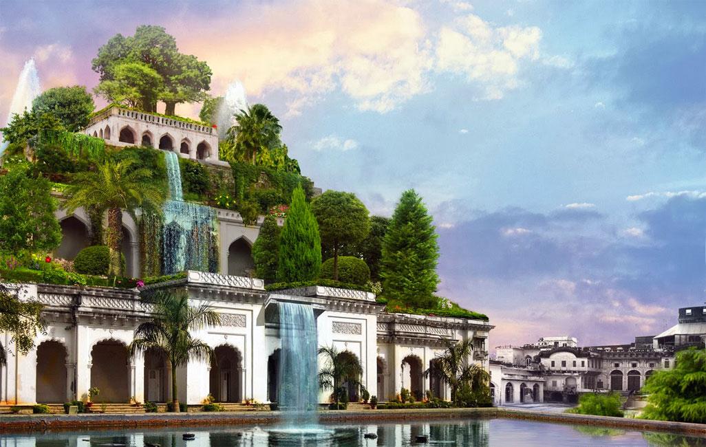 Giardini pensili di babilonia for Soluzioni giardini pensili