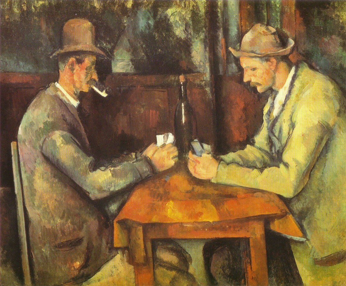 Giocatori di carte - Cezanne - 1890-1895