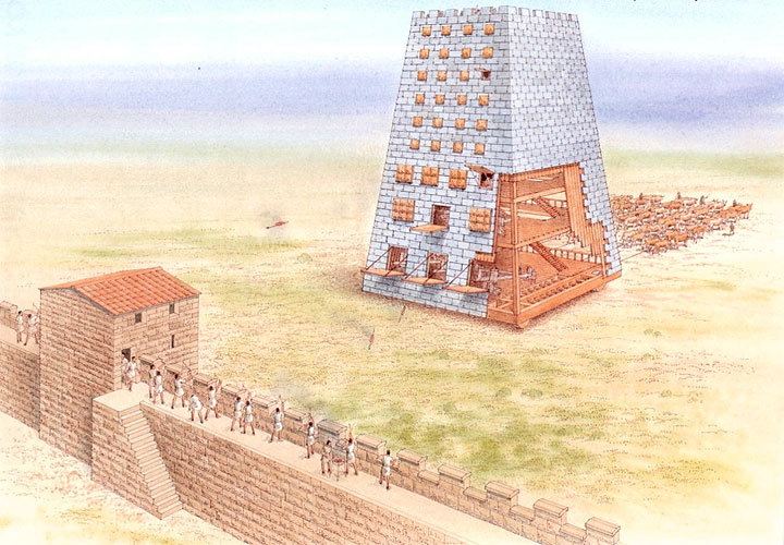 Helepolis - Torre con ruote
