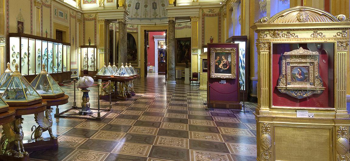 Hermitage - La stanza di Raffaello (o stanza della Maiolica)