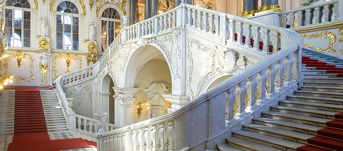 Hermitage - Scalinata interna