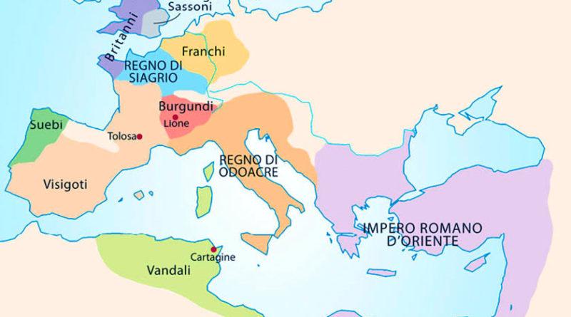 Invasioni barbariche e Regni romano barbarici