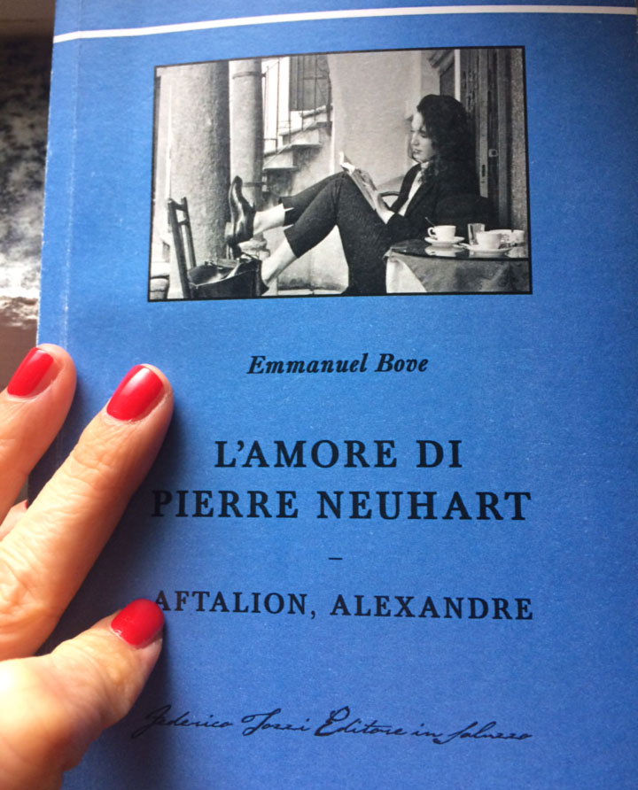 L'amore di Pierre Neuhart – Aftalion, Alexandre (libro di Emmanuel Bove) - libro