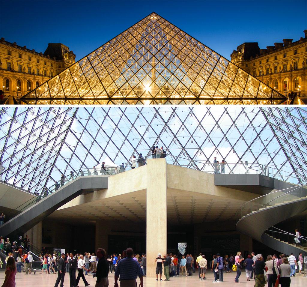 Louvre - Piramide