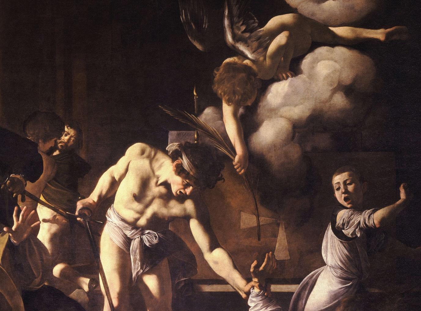 Martirio di San Matteo - dettaglio del quadro