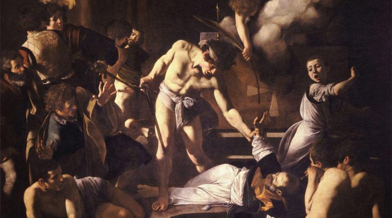 Martirio di San Matteo - opera arte - Caravaggio - analisi