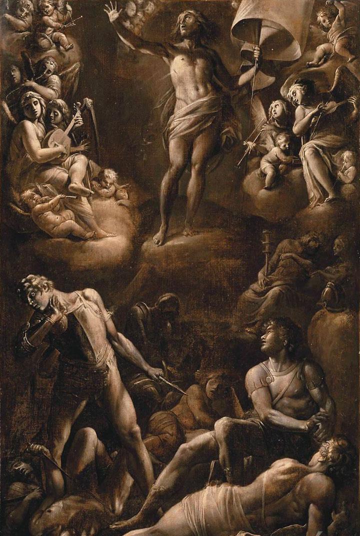 Resurrezione - Giovanni Baglione