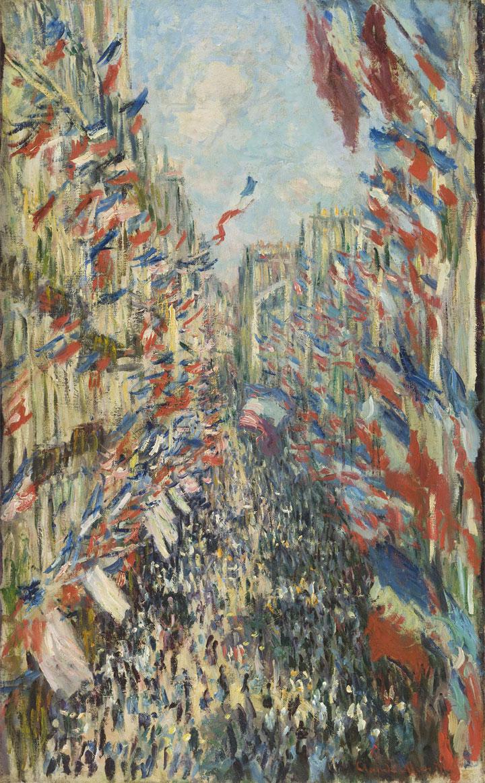 Rue Montorgueil a Parigi - Festa del 30 giugno 1878