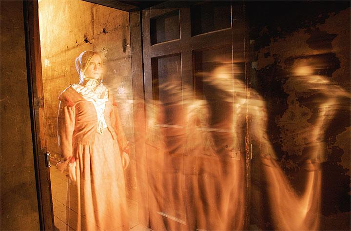Annie - fantasma - Mary King's Close - Edimburgo