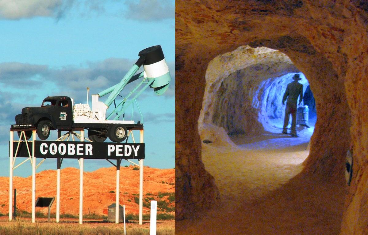 Coober Pedy - città sotterranea