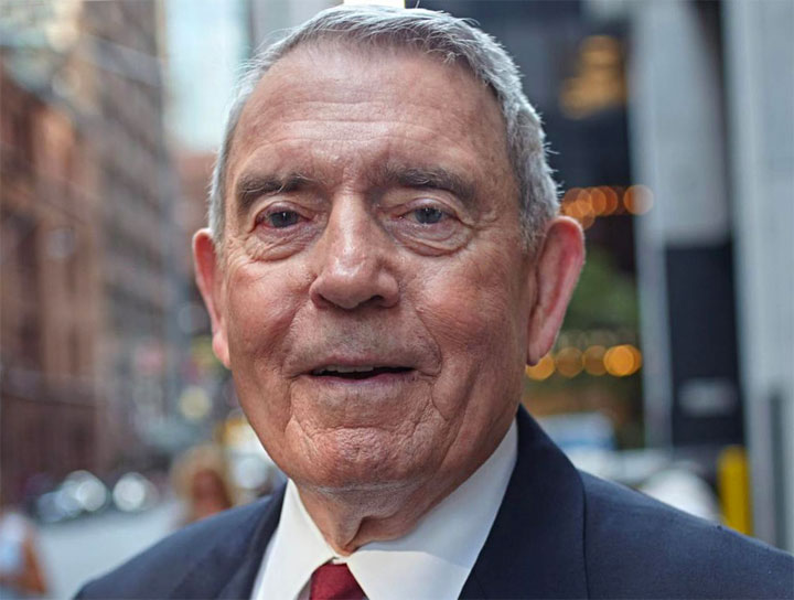 Una foto di Dan Rather