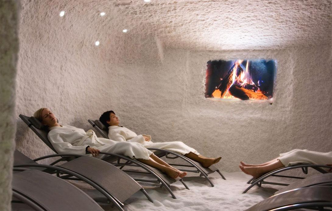 Grotte di sale, Halotherapia (Terapia del sale)