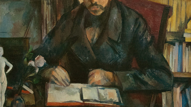 Gustave Geffroy - dipinto - Cezanne