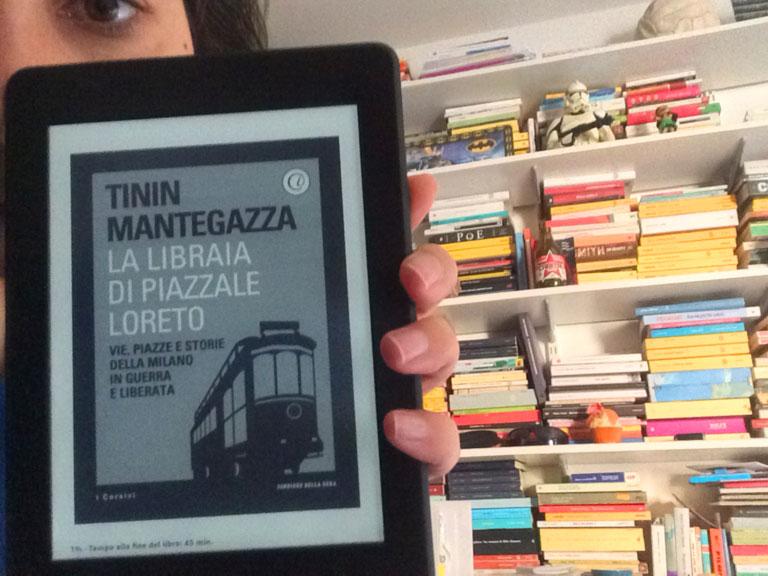 La libraia di Piazzale Loreto,  libro di Tinin Mantegazza