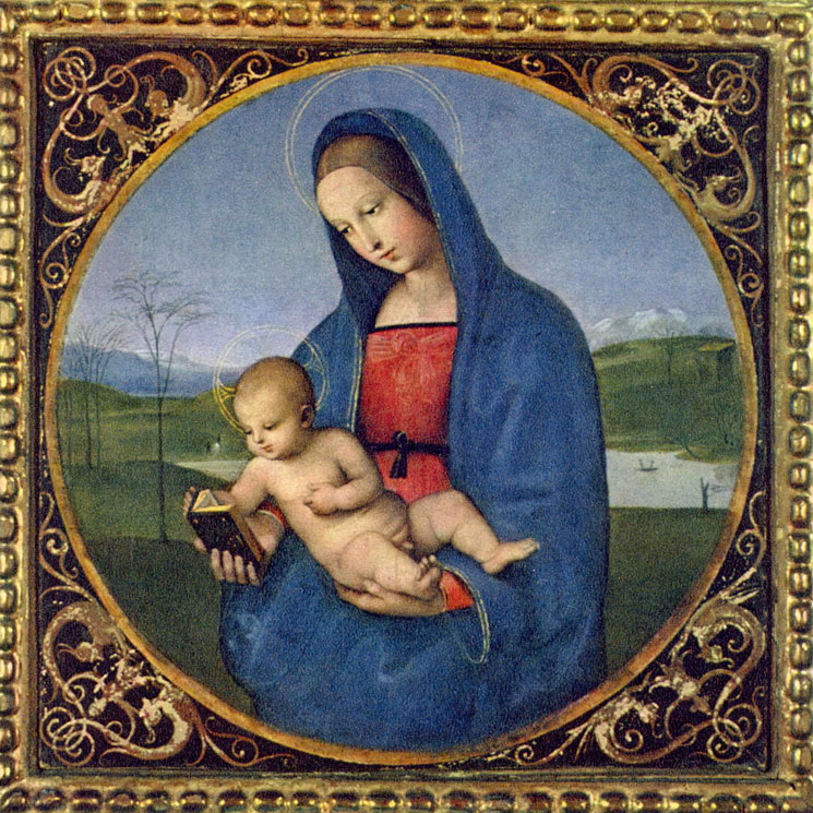 Madonna Conestabile - Raffaello Sanzio