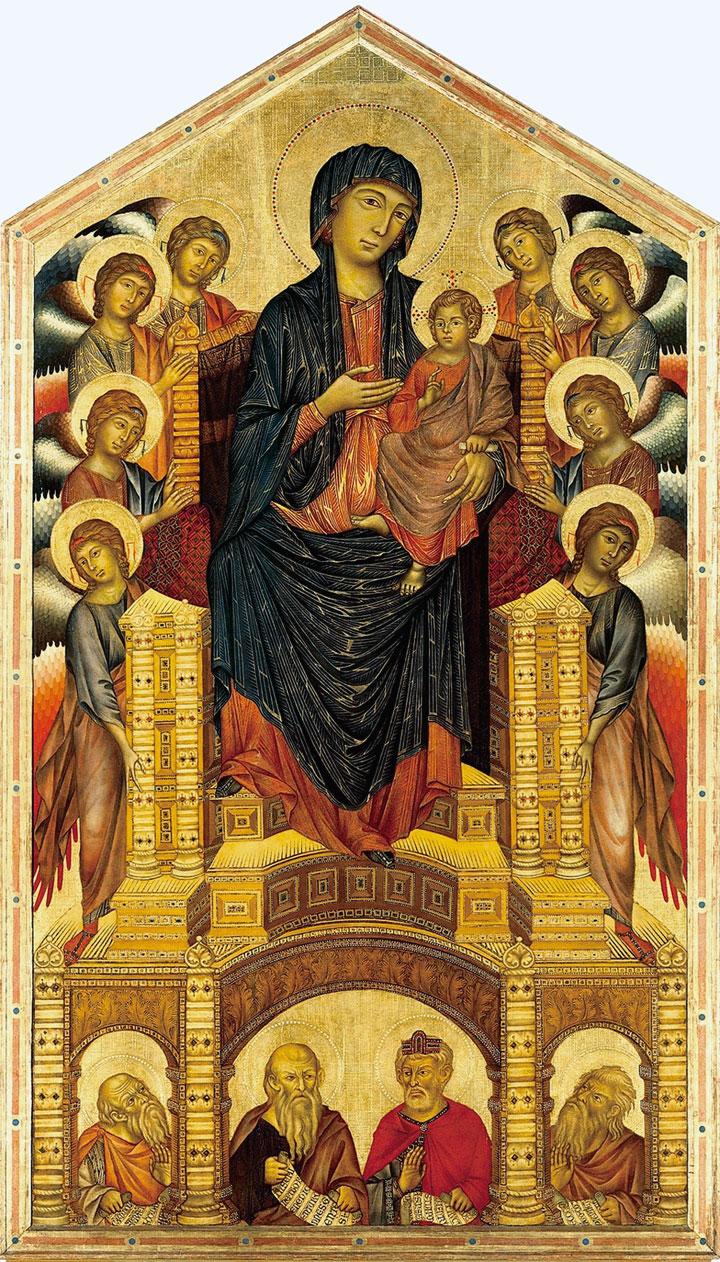 Maestà della Santa Trinità - Cimabue
